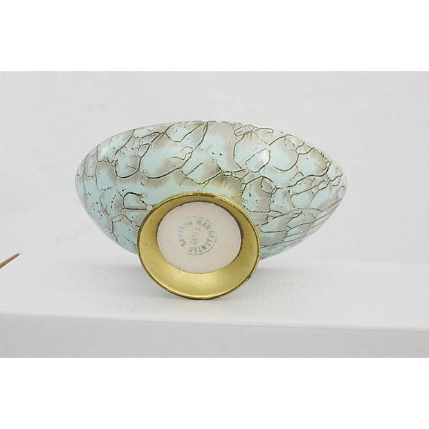 Delft Porcelain Pedestal Bowl - Image 5 of 5