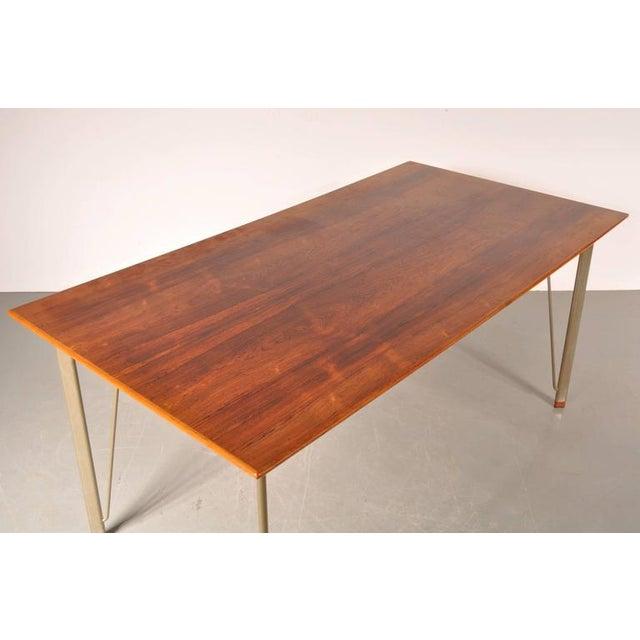 Dining Table by Arne Jacobsen for Fritz Hansen, Denmark, circa 1955 - Image 6 of 10