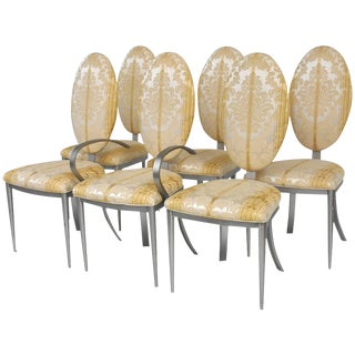 Set of 6 Dia Modern Dining Chairs For Sale