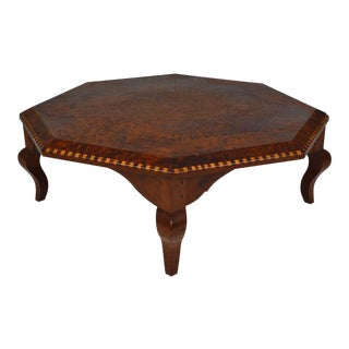 Moorish Octagonal Coffee Table For Sale