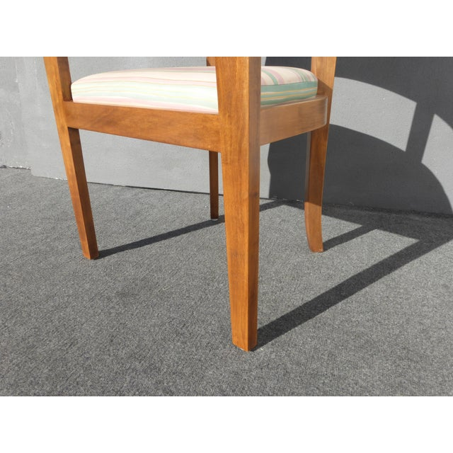 Mid-Century Danish Modern Leather Arm Chairs - 4 - Image 11 of 11