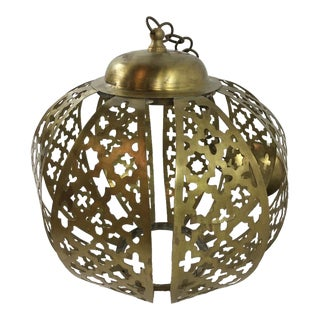 Moroccan Style Brass Lantern