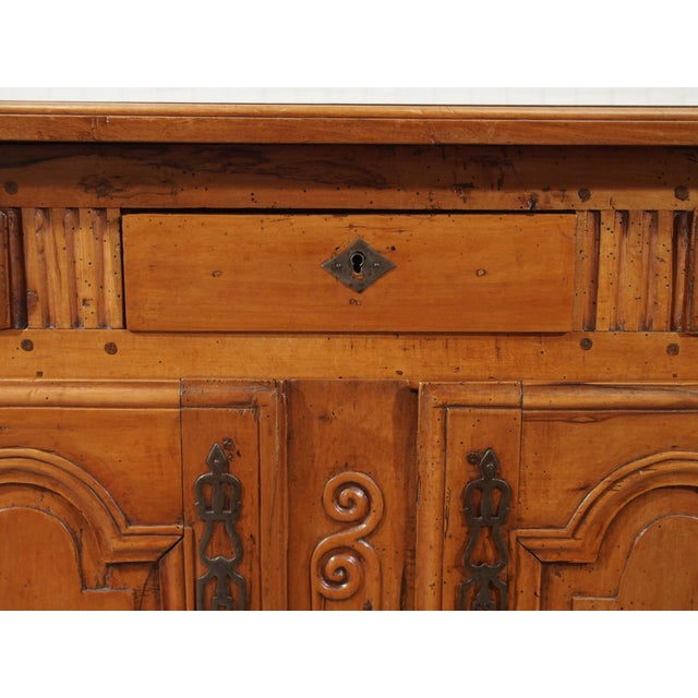 18th Century French Cherry Wood Buffet For Sale In New Orleans - Image 6 of 11