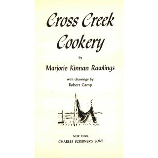 """1942 """"Cross Creek Cookery"""" Collectible Book Preview"""