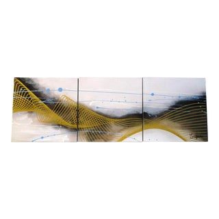 Contemporary Abstract Giclée Prints - Set of 3 For Sale