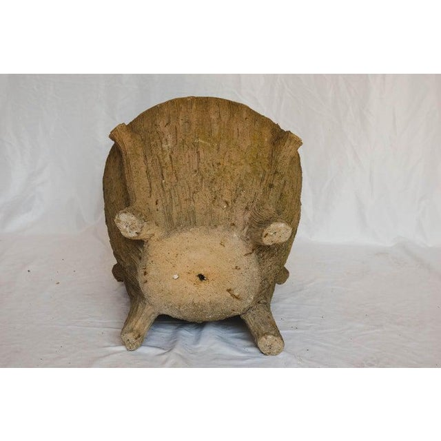 Mid 20th Century Faux Bois Planter For Sale - Image 11 of 13