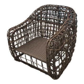 Gambrell Renard Brown Linda Chair For Sale