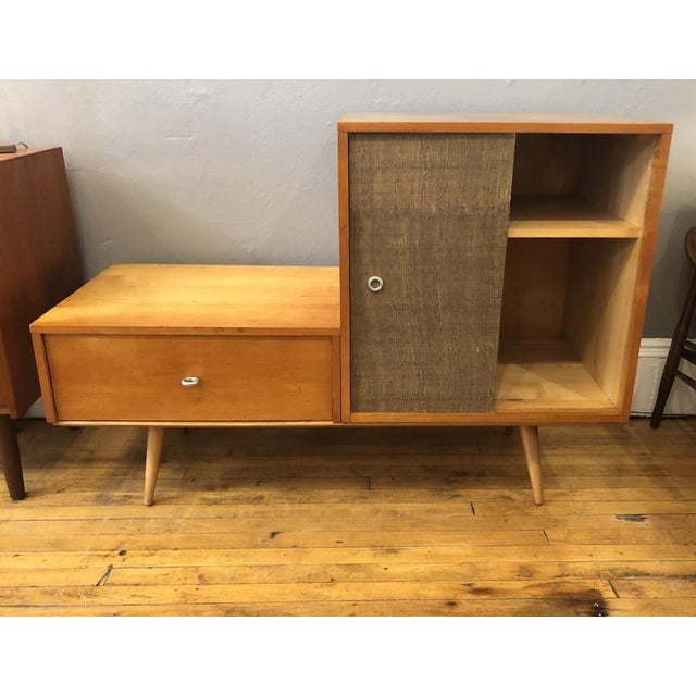 Mid-Century Modern Vintage Paul McCobb Planner Group Modular Cabinet 1950's For Sale - Image 3 of 10
