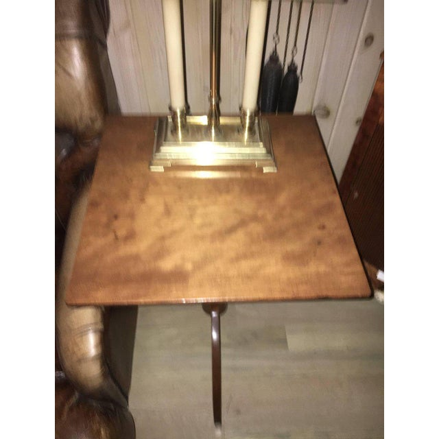 American Cherry Candle Stand For Sale - Image 9 of 11