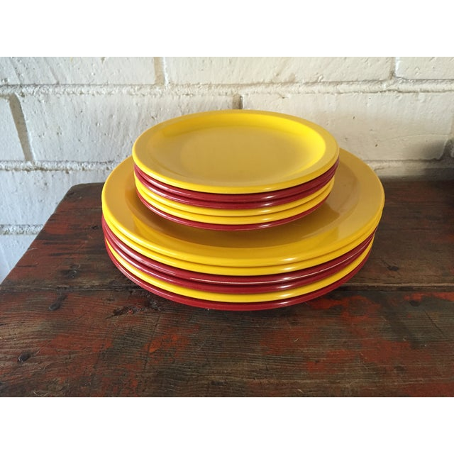 Texas Ware Melamine Plates - Set of 12 - Image 2 of 7
