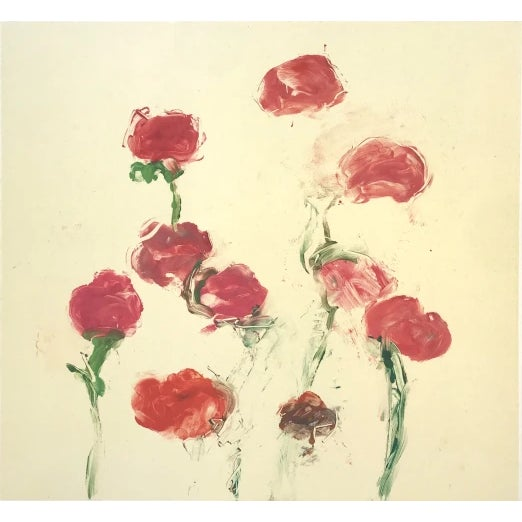 """Abstract Susan Hambleton """"Rose 4"""", 1999 For Sale - Image 3 of 3"""