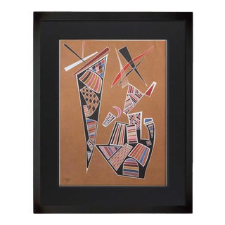 1960s Vintage Wassily Kandinsky Limited Ed. Lithograph For Sale