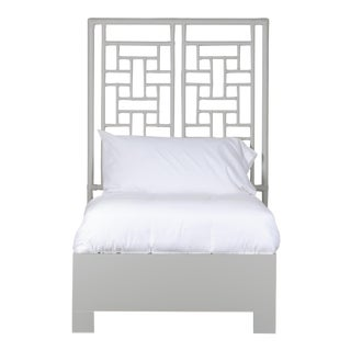 Ohana Bed Twin - Light Gray For Sale