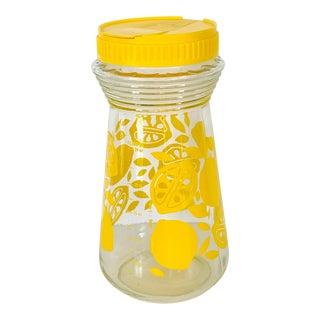 Vintage Mid Century Mod Lemonade Jug For Sale