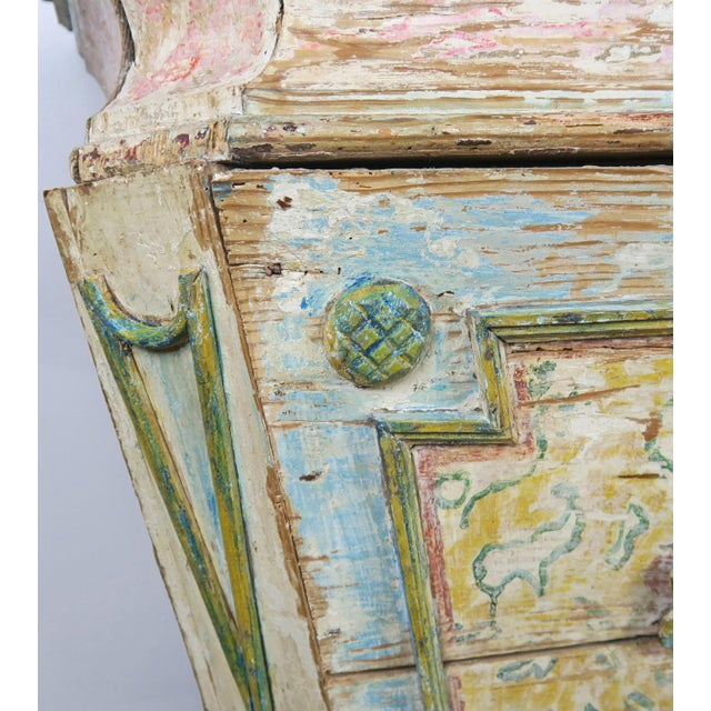 19th Century Italian Painted Altar Table For Sale In Los Angeles - Image 6 of 10