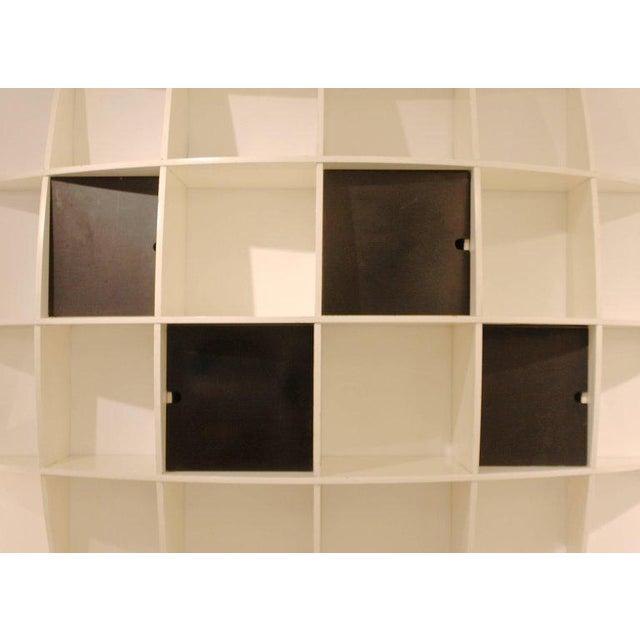 """Tyko"" Lacquered Wood Bookshelf by Manfredo Massironi for Nikol International For Sale - Image 4 of 11"