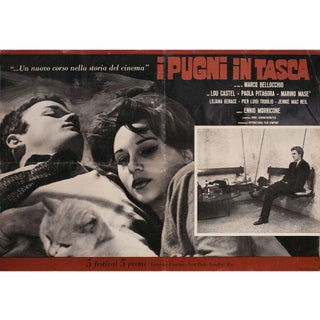 Fists in the Pocket 1965 Italian Fotobusta Film Poster For Sale