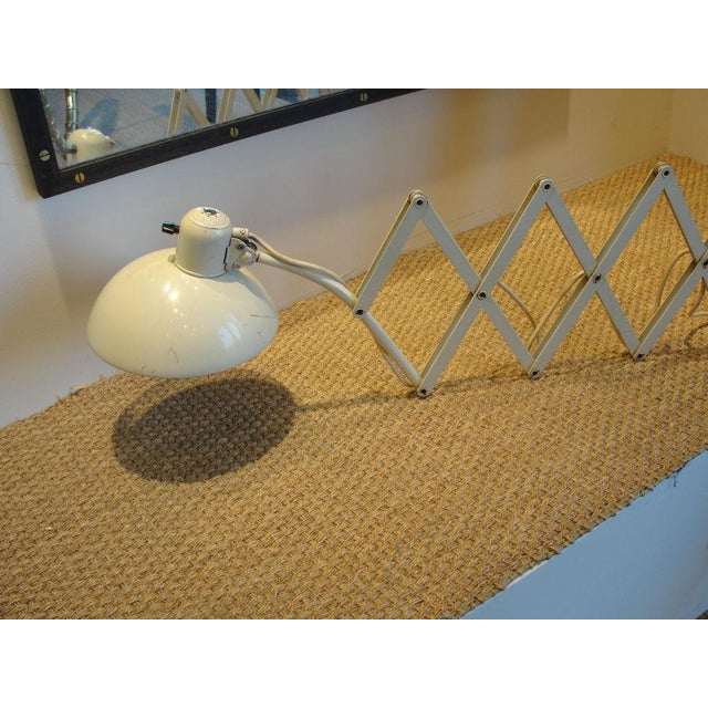 1930s Vintage Scissor Wall Lamp by Christian Dell For Sale - Image 5 of 8