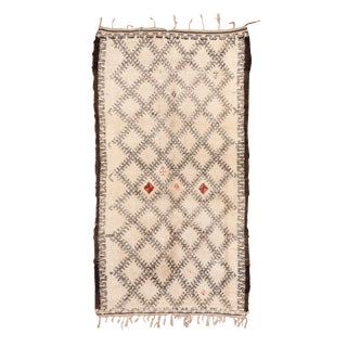 """1950's Tribal Moroccan Rug-6'4'x11'9"""" For Sale"""