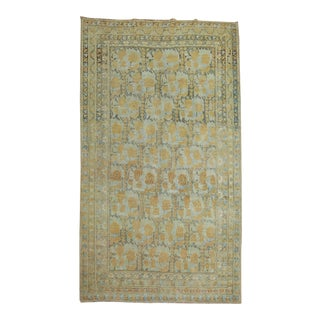 Early 20th Century Shabby Chic 4'6'' X 7' Rug For Sale