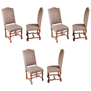 1900s Belgian Dining Chairs- Set of 6 For Sale