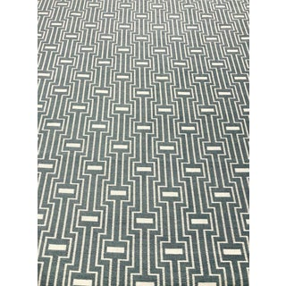 Kravet Design 34709 - 5 Modern Geometric Gray and White Upholstery Fabric - 12.5 Yards For Sale