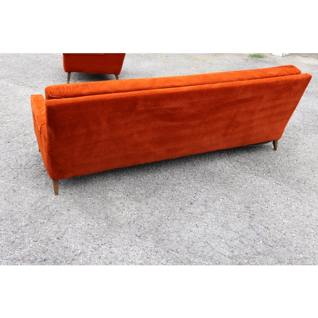 1950s Paul McCobb Custom Craft Sofa For Sale - Image 9 of 10