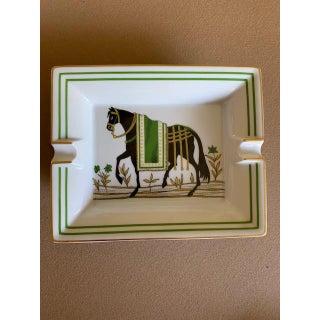 Hermes Horse Large Ashtray Trinket Dish - Mint Preview