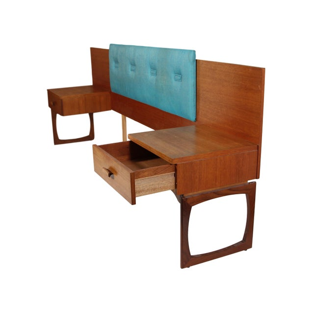 1960s Mid Century Teak Queen Size Headboard by G Plan For Sale - Image 5 of 11