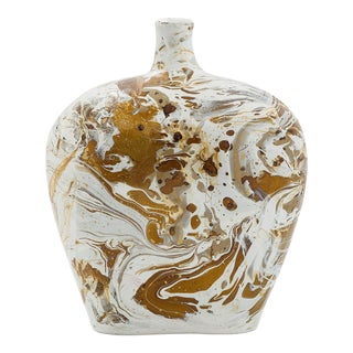 Maguana Jarrón Blown Glass Vase For Sale