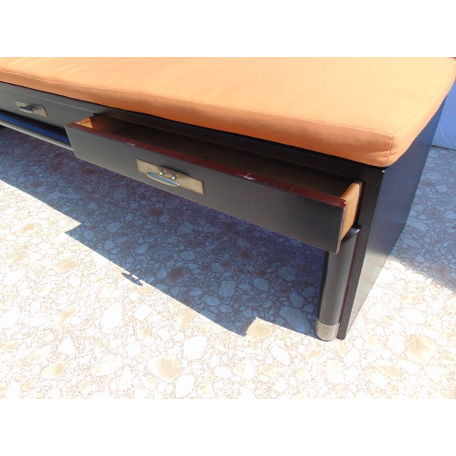 3-Drawer Coffee Table/Bench With Cushion - Image 11 of 11