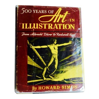 500 Years of Art Illustrations, Albrecht Durer to Rockwell Kent Book For Sale
