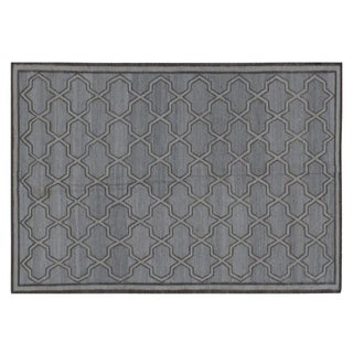 """Stark Studio Rugs Contemporary Flat Woven Rug - 6' X 9'1"""" For Sale"""