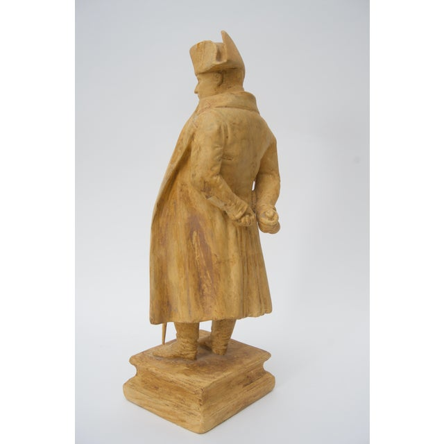 Antique 19th C. Figure of Napoleon Bonaparte From London Dealer For Sale - Image 4 of 6