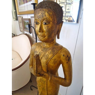 Magnificent Early 19th Century Bronze Thai Buddha Monk Preview