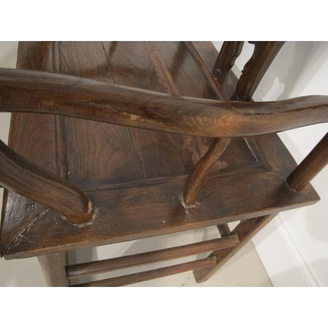 Asian 1990s Chinese Emperor Side Chair For Sale - Image 3 of 6
