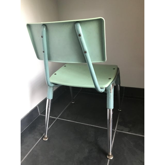 Vintage 1950's Child Chair For Sale - Image 4 of 5