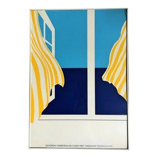 """1978 Ole Kortzau """"Knudsodde"""" Edition 65/65 Art Poster"""