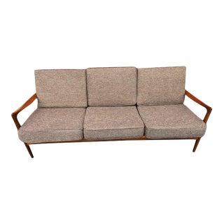 Mid Century Modern Kofod Larsen Teak Sofa For Sale