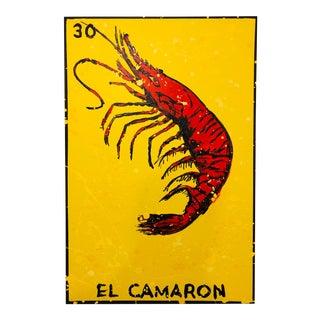 """""""El Camaron"""" Painting From """"La Lotería"""" by Carlos E. Ortiz For Sale"""