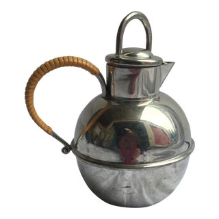 Antique Pewter Coffee Pot