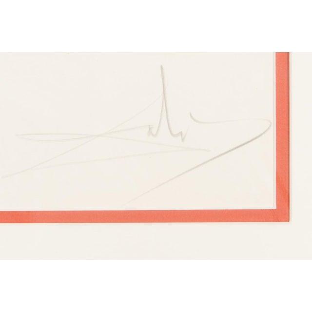 """Salvador Dali """"Adam & Eve"""" Signed Lithograph - Image 7 of 10"""