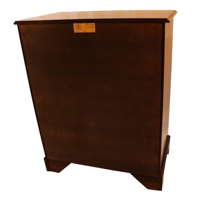 Henkel Harris Solid Cherry Tall Chest Dresser For Sale - Image 10 of 10