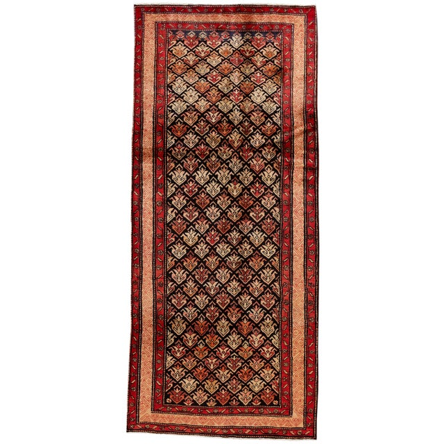 """Vintage North West Persian Rug, 4'5"""" X 10'0"""" For Sale"""
