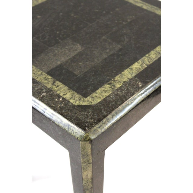 Maitland - Smith Maitland-Smith Modern Nesting Tables in Tessellated Stone - Set of 3 For Sale - Image 4 of 13