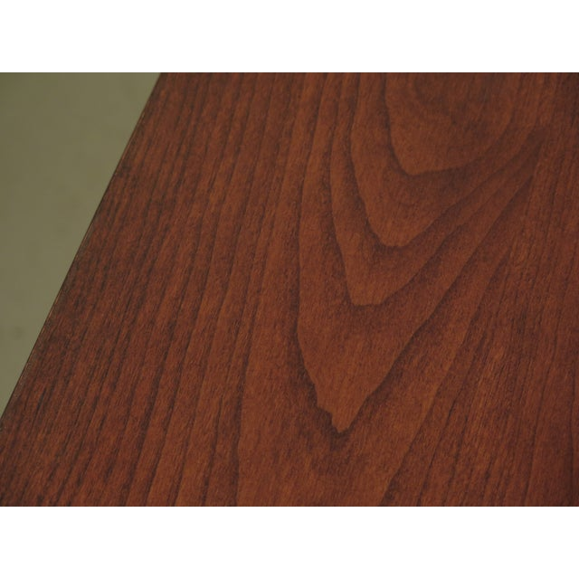 Arts & Crafts 1990s Vintage Stickley Cherry Mission Style Cherry Dining Room Table For Sale - Image 3 of 12
