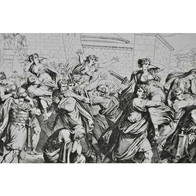 "Bartolomeo Pinelli Engraving ""The Sabine Rats Under the Rein of Romulus"" c.1816 - Image 6 of 8"