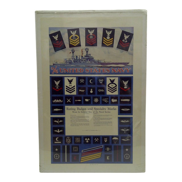 C. 1930 U.S. Navy Recruiting Poster For Sale