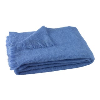 Provence Brushed Mohair Throw For Sale