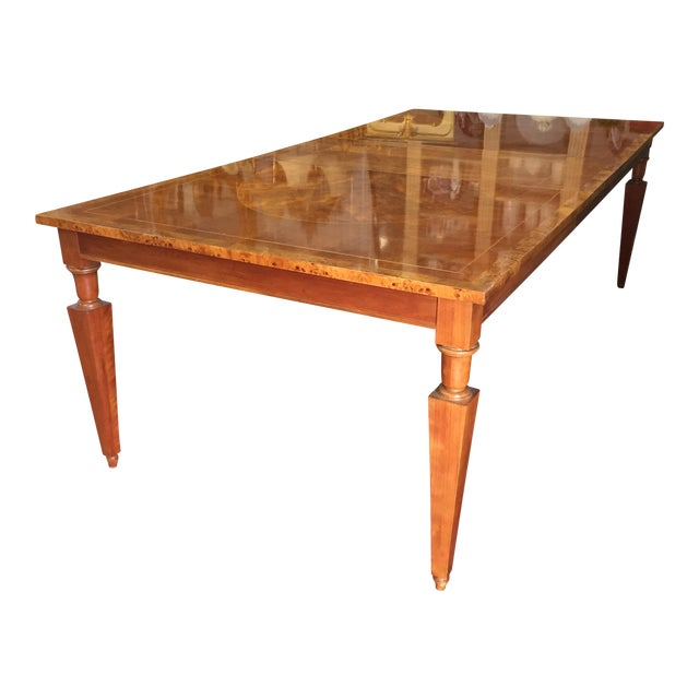 Vintage Baker Walnut Dining Table - Image 1 of 8